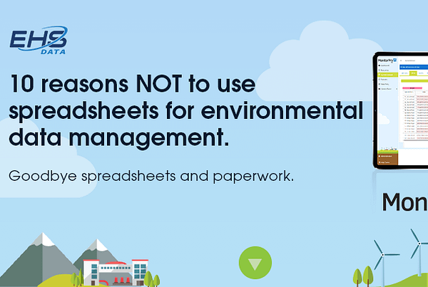 spreadsheets for environmental data management