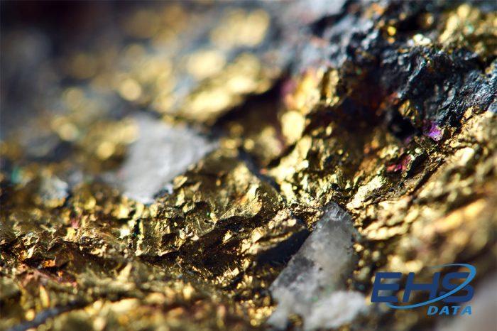gold and copper mine